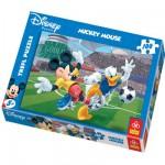 Puzzle 100 pièces - Mickey et ses amis : Match de Football