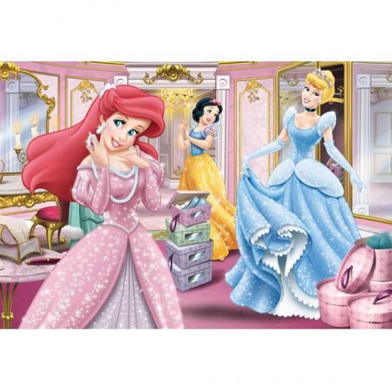 Puzzle 100 pièces - Princesses Disney : Prêtes pour le gala - Trefl-16186