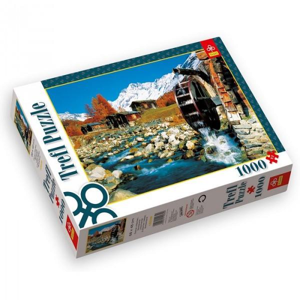 Puzzle 1000 pièces - Vallée de Lötschental, Suisse - Trefl-10239
