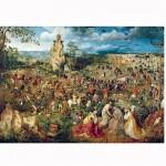 Puzzle 1000 pièces : Art Brueghel : La montée au calvaire