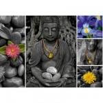Puzzle 1000 pièces : Bouddha