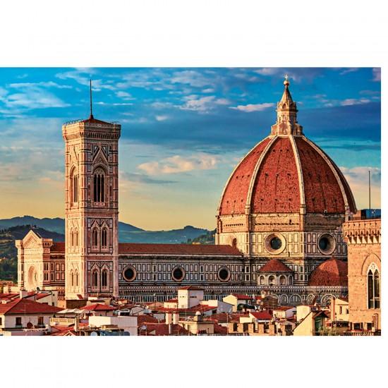 Puzzle 1000 pièces : Cathédrale Sainte Marie de la fleur Florence, Italie - Trefl-10381
