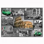 Puzzle 1000 pièces : Collage Rome, Italie