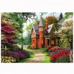 Puzzle 1000 pièces : Cottage victorien