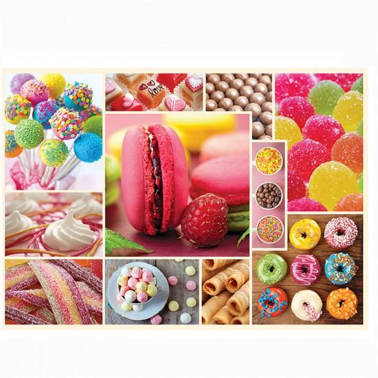 Puzzle 1000 pièces : Cuisine décor : Confiserie - Trefl-10357