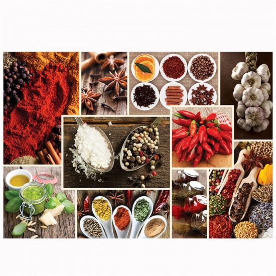 Puzzle 1000 pièces : Cuisine décor : Epices - Trefl-10358