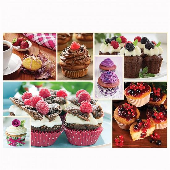 Puzzle 1000 pièces : Cuisine décor : Muffins - Trefl-10360