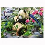 Puzzle 1000 pièces : Panda