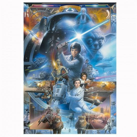 Puzzle 1000 pièces : Star Wars - Trefl-10323