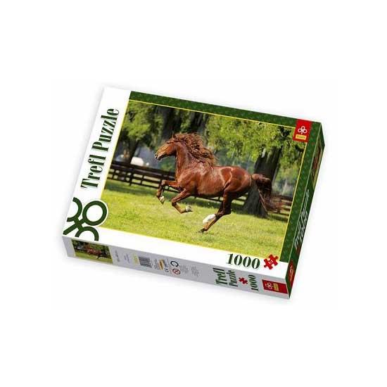 Puzzle 1000 pièces - Cheval au galop - Trefl-10201