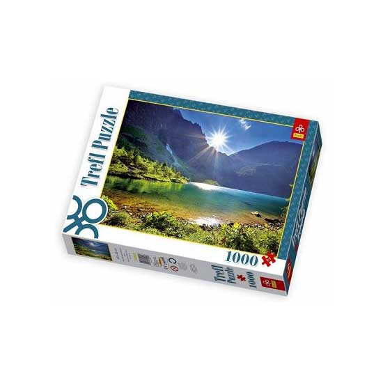 Puzzle 1000 pièces - Lac Morskie Oko, les Tatras, Pologne - Trefl-10202