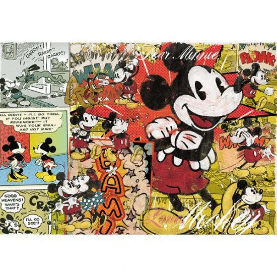 Puzzle 1000 pièces - Mickey rétro - Trefl-10309