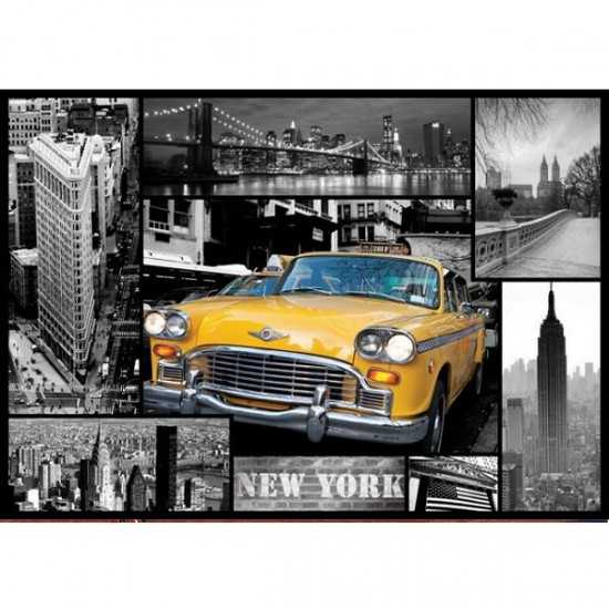 Puzzle 1000 pièces - New York : Collage - Trefl-10271