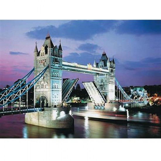 Puzzle 1000 pièces - Tower Bridge - Trefl-10101