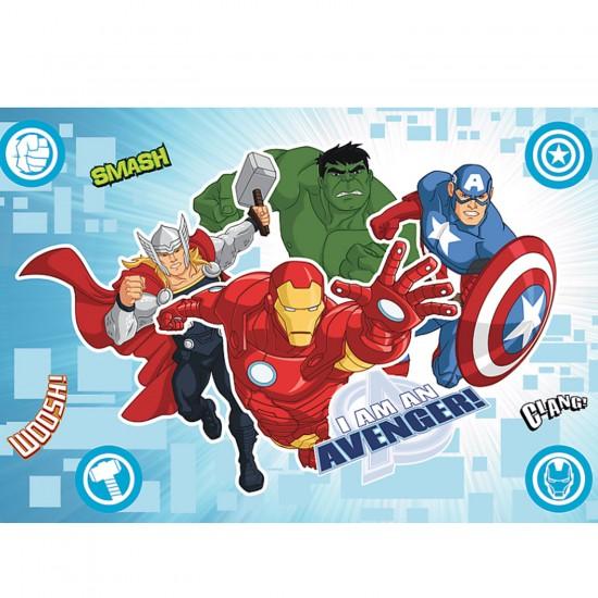 Puzzle 15 pièces Magic Decor : Avengers - Trefl-14612