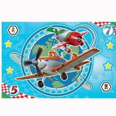 Puzzle 15 pièces Magic Decor : Planes, En plein vol