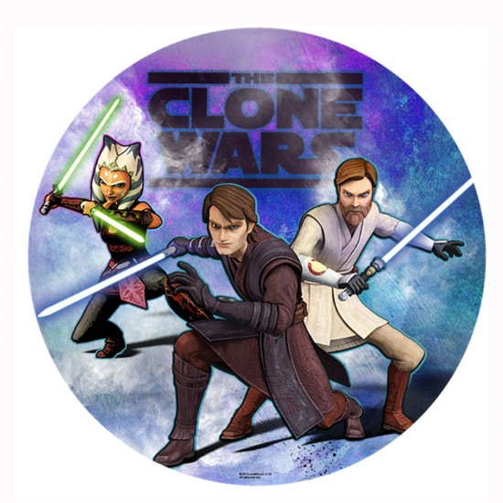 Puzzle 150 pièces rond : Clone Wars - Trefl-39100