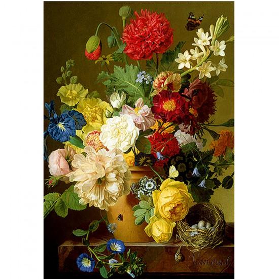 Puzzle 1500 pièces : Bouquet de fleurs - Trefl-26120