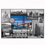 Puzzle 1500 pièces : Collage San Francisco, Californie