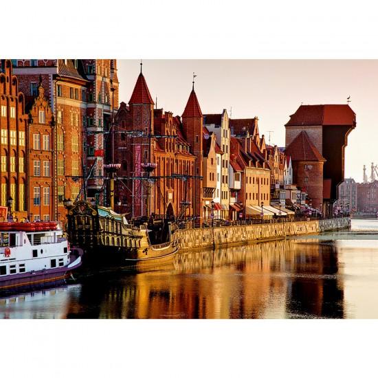 Puzzle 1500 pièces : Gdansk, Pologne - Trefl-26117