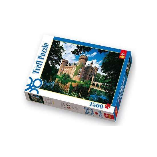 Puzzle 1500 pièces - Château Moyland, Allemagne - Trefl-26074