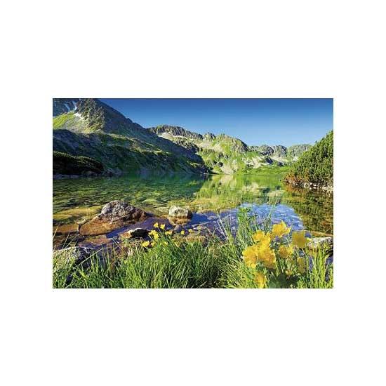 Puzzle 1500 pièces - Lac Wielki Staw  : Les Tatras, Pologne Slovaquie - Trefl-26089