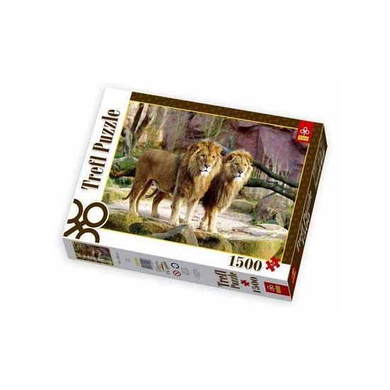 Puzzle 1500 pièces - Lions - Trefl-26088