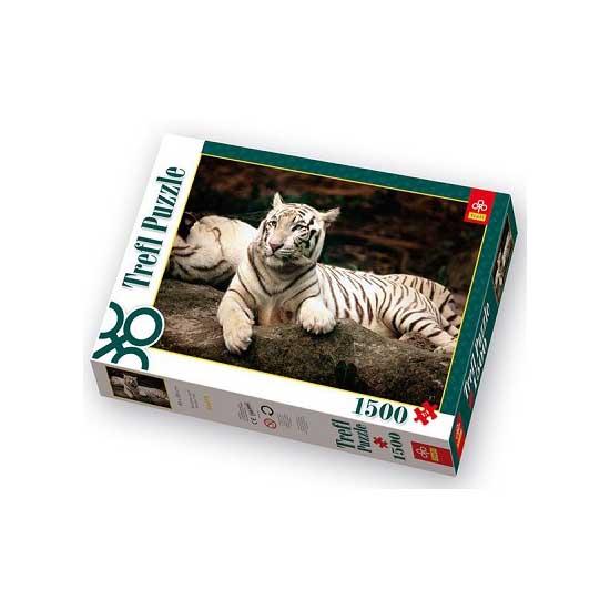 Puzzle 1500 pièces - Tigre du Bengale - Trefl-26075