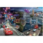 Puzzle 160 pièces - Cars 2 : Quelles courses !