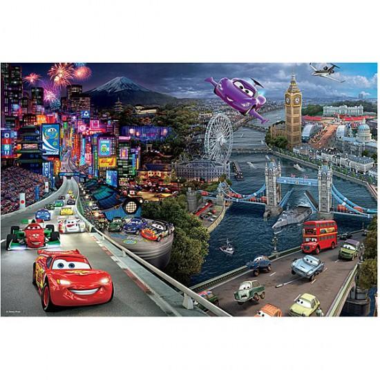 Puzzle 160 pièces - Cars 2 : Quelles courses ! - Trefl-15216