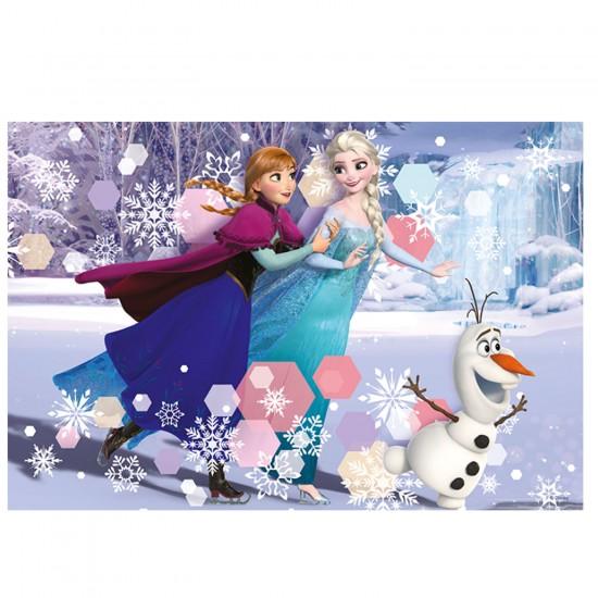 Puzzle 160 pièces La reine des neiges : Patinage - Trefl-15317