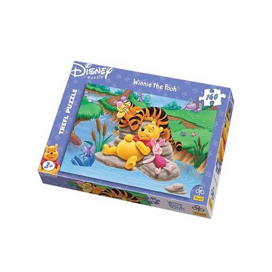 Puzzle 160 pièces - La sieste de Winnie l'Ourson - Trefl-15122