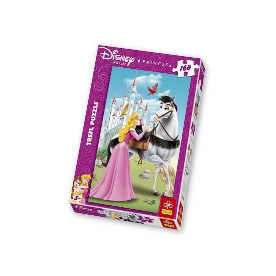 Puzzle 160 pièces - Princesses Disney : La Belle au dormant - Trefl-15146