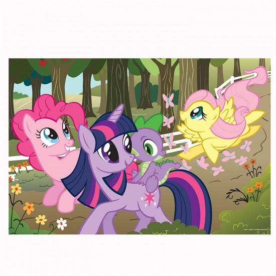 Puzzle 2 x 48 pièces : Color puzzle : Mon petit poney - Trefl-36509