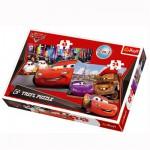 Puzzle 24 et 24 pièces : 2 puzzles : Cars à Paris et à Tokyo