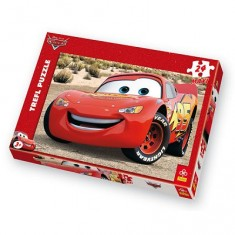 Puzzle 24 pièces - Cars : Flash Mc Queen