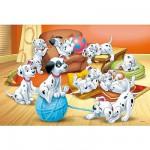 Puzzle 24 pièces - Les 101 Dalmatiens : Pelote de laine