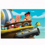 Puzzle 24 pièces maxi : Jake et les pirates : A l'abordage