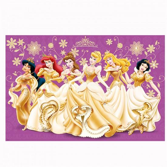 Puzzle 24 pièces maxi : Les princesses Disney en tenue de bal - Trefl-14087