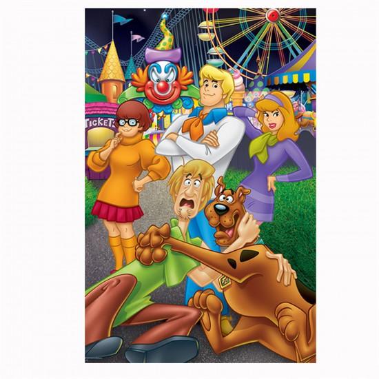 Puzzle 24 pièces maxi : Scooby doo à la fête foraine - Trefl-14181