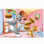 Puzzle 24 pièces maxi : Tom et Jerry : Bon appétit