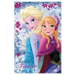 Puzzle 24 pièces maxi La reine des neiges : Photo de famille