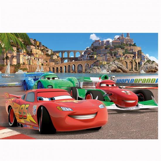 Puzzle 260 pièces : Cars 2 : La course de Porto Corso - Trefl-13123