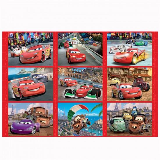 Puzzle 30 à 60 pièces : 3 puzzles Story : Cars - Trefl-90302