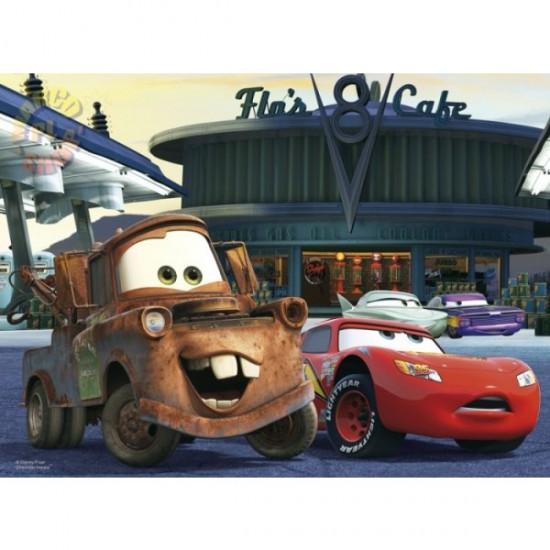 Puzzle 30 pièces - Cars : A la station essence - Trefl-18137