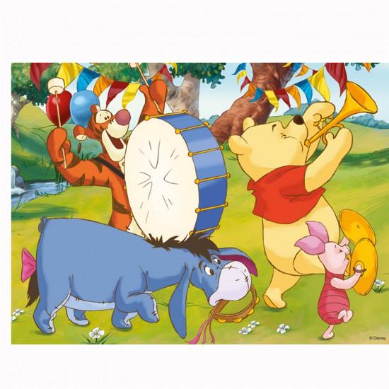 Puzzle 30 pièces : Drôles de jeux pour Winnie et ses amis - Trefl-18168