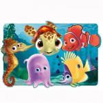 Puzzle 30 pièces maxi : Némo et ses amis prêts pour l'aventure