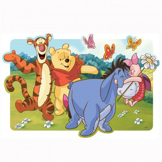 Puzzle 30 pièces maxi : Winnie l'ourson et ses amis prêts pour de nouvelles aventures - Trefl-14163