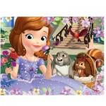 Puzzle 30 pièces Princesse Sofia : Bouquet de roses