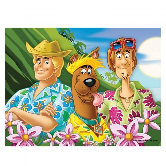 Puzzle 30 pièces Scooby Doo : En vacances - Trefl-18197